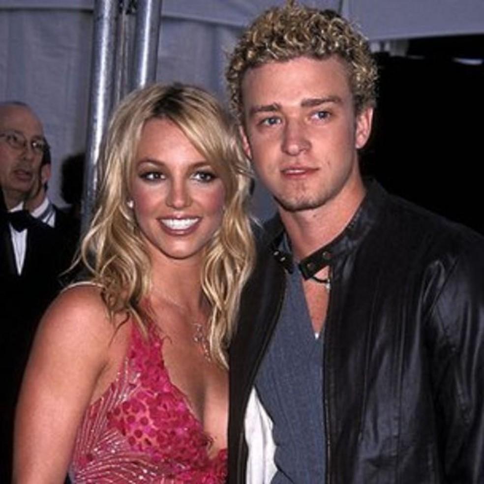 Tratamento da mídia sobre a separação de Spears e Timberlake também é analisado no documentário — Foto: Getty Images/BBC