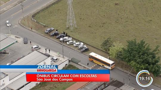 Após confronto, ônibus circula com escolta armada na zona leste de São José
