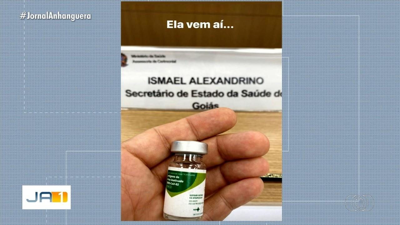 Possibilidade da chegada da vacina contra a Covid-19 anima moradores de Goiás