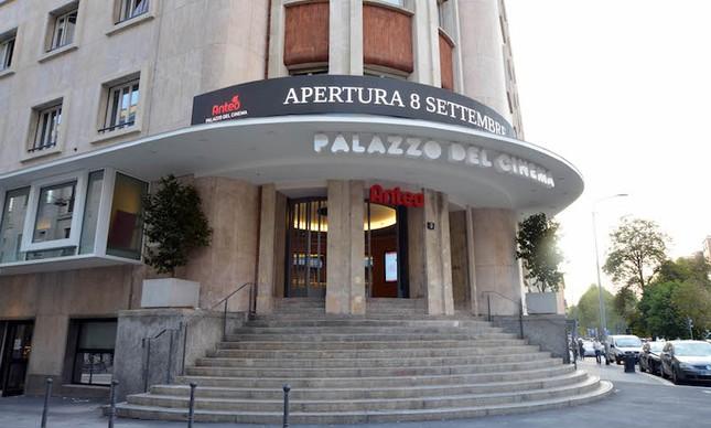 O novo Anteo Palácio do Cinema inaugurado no início de setembro em Milão