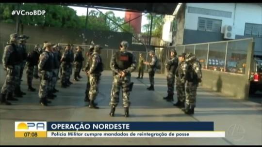 Operação da PM cumpre mandados de reintegração de posse no nordeste do Pará