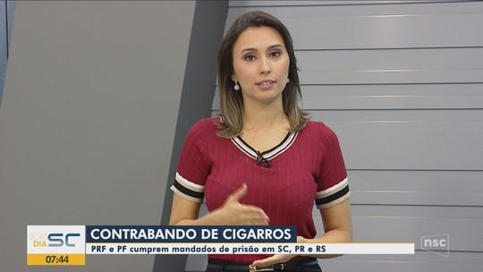 Operação de combate ao contrabando de cigarros cumpre mandados em SC, PR e RS
