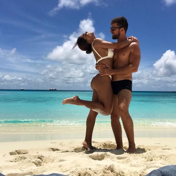 Juliana Paes e o marido (Foto: Reprodução)