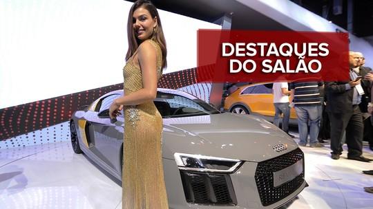 VÍDEO: veja os destaques do 2º dia do Salão do Automóvel 2016