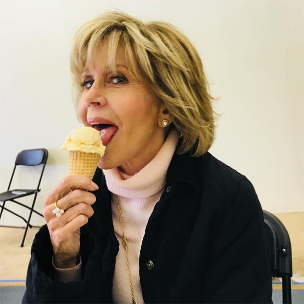 Jane Fonda (Foto: Reprodução / Instagram)