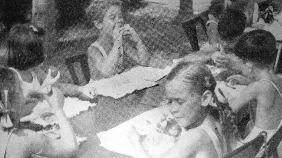Escolas ao ar livre do início do século 20 já foram chamadas de um 'cometa médico-pedagógico', que acabaram quase desaparecendo nas décadas de 1950 e 60 — Foto: Revista Brasileira de Educação Física/Reprodução