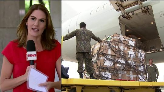 Avião da FAB segue para Pacaraima com ajuda humanitária para venezuelanos