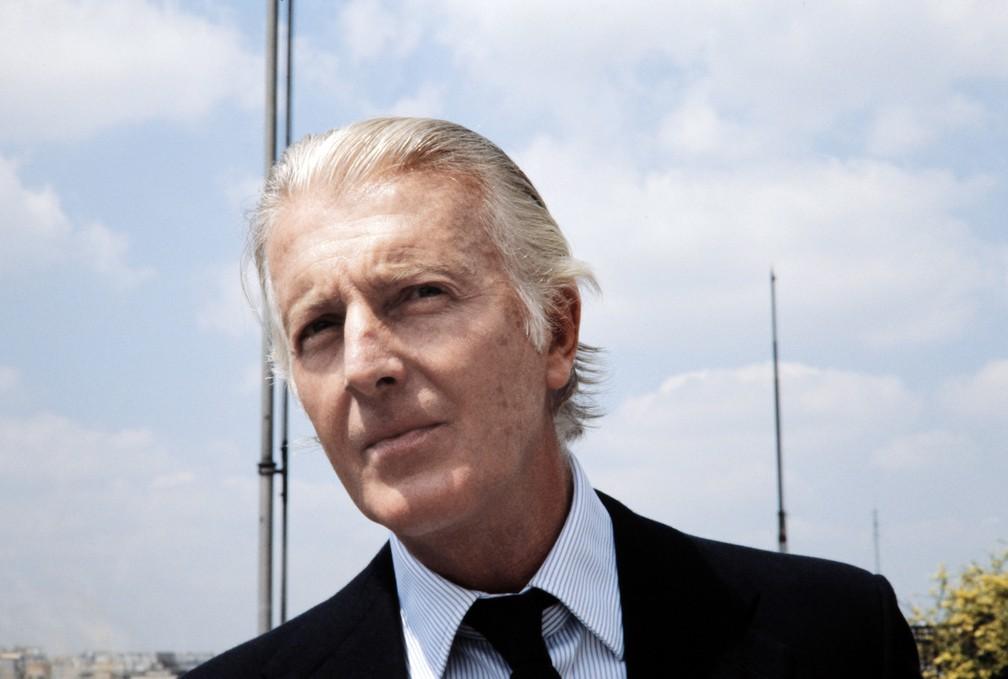 Hubert de Givenchy em imagem de 1 de julho de 1978 (Foto: France Presse)