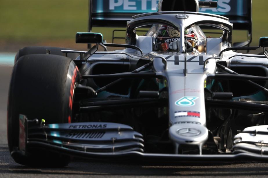 GP de Abu Dhabi: Lewis Hamilton sobra, conquista última pole position de 2019 e quebra jejum