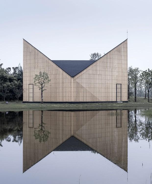 Capela Nanjing Wanjing Garden (Foto: Reprodução/Pinterest)