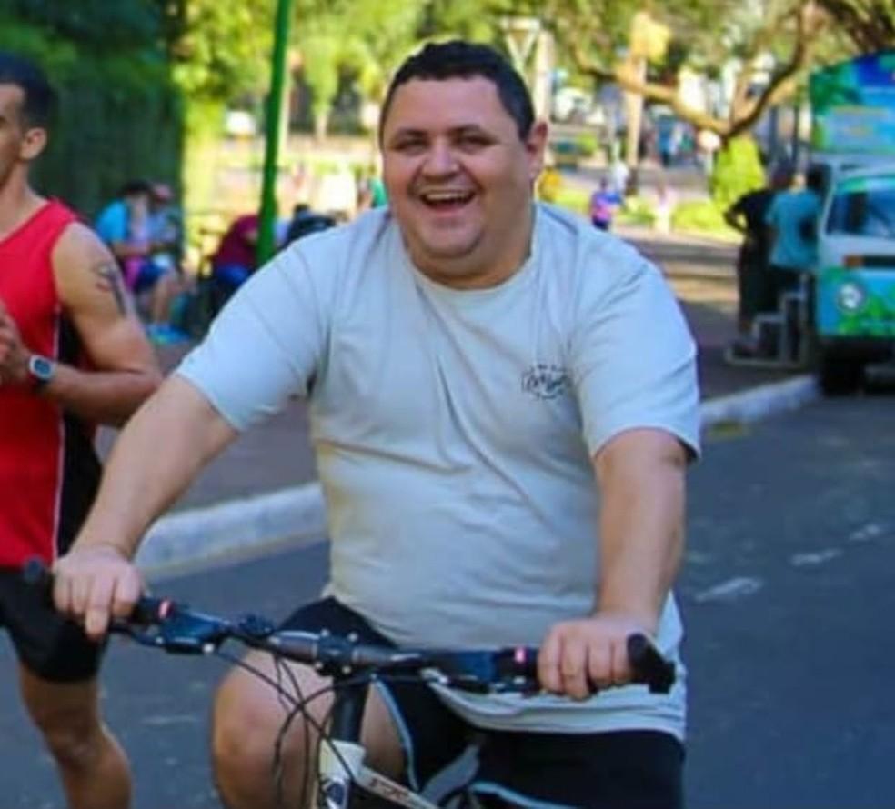 Luiz Carlos Azevedo era técnico em enfermagem na UPA da Zona Norte, em Maringá — Foto: Arquivo pessoal