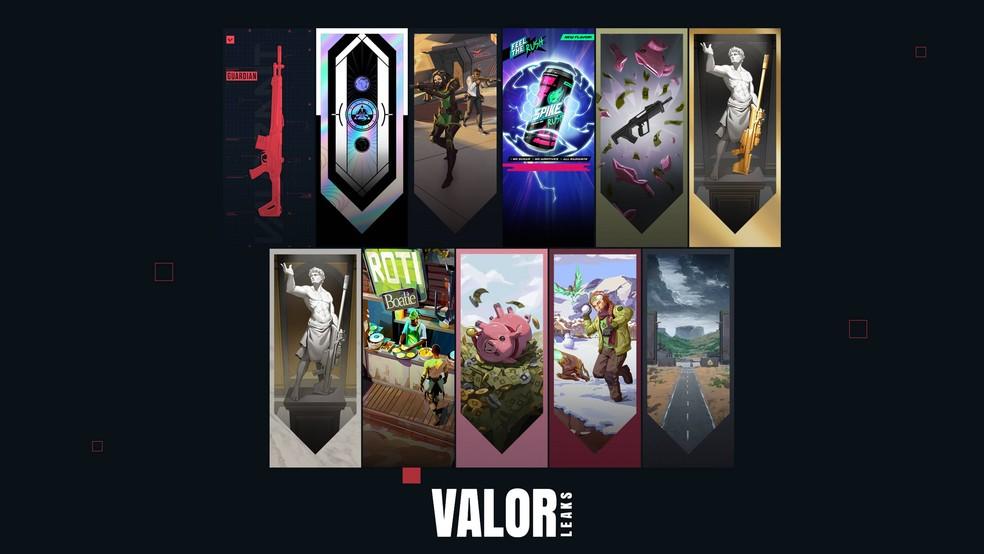 Card de jogador do Passe de Batalha do Episódio 3 — Foto: Reprodução/Valorleaks