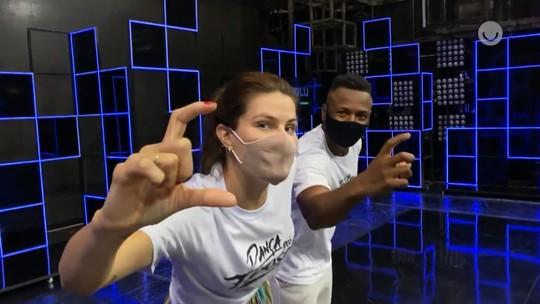 Professor do 'Dança' entrega segredo de Isabeli Fontana: 'Anda com paçoca na bolsa!'