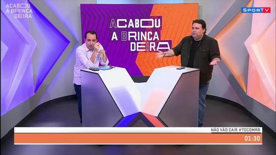 Acabou a brincadeira pergunta: Cruzeiro ou Flu caem?