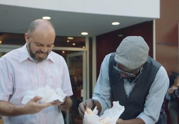 Campanha de conscientização sobre voto em branco do Burger King  (Foto: Reprodução)
