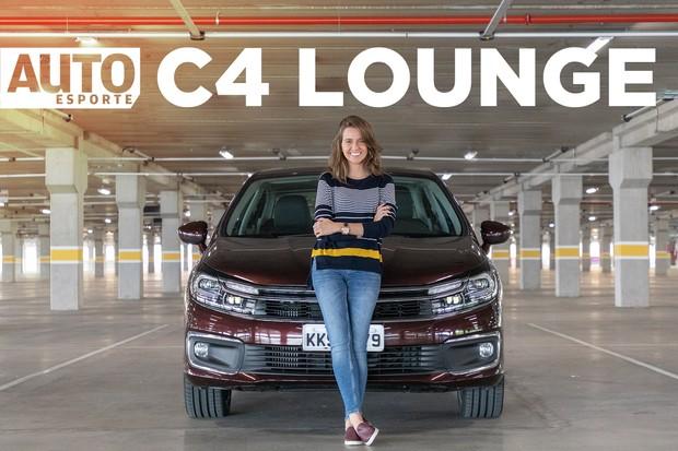 V'ideo Citroen C4 Lounge (Foto: Autoesporte)