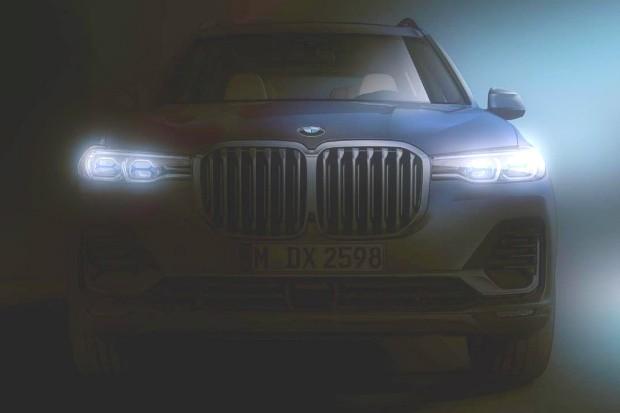 BMW divulga primeira imagem do X7 (Foto: Reprodução)