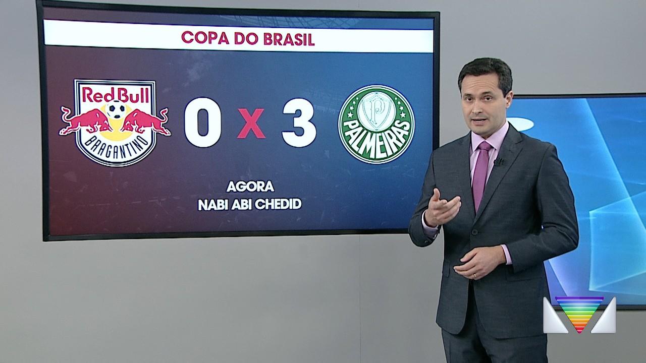 Bragantino enfrenta o Palmeiras pelo Brasileiro