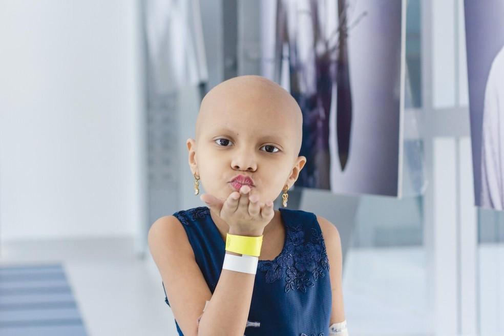 Yasmim Marques Brito, de Cubatão, SP, luta contra leucemia mielóide aguda — Foto: Arquivo pessoal