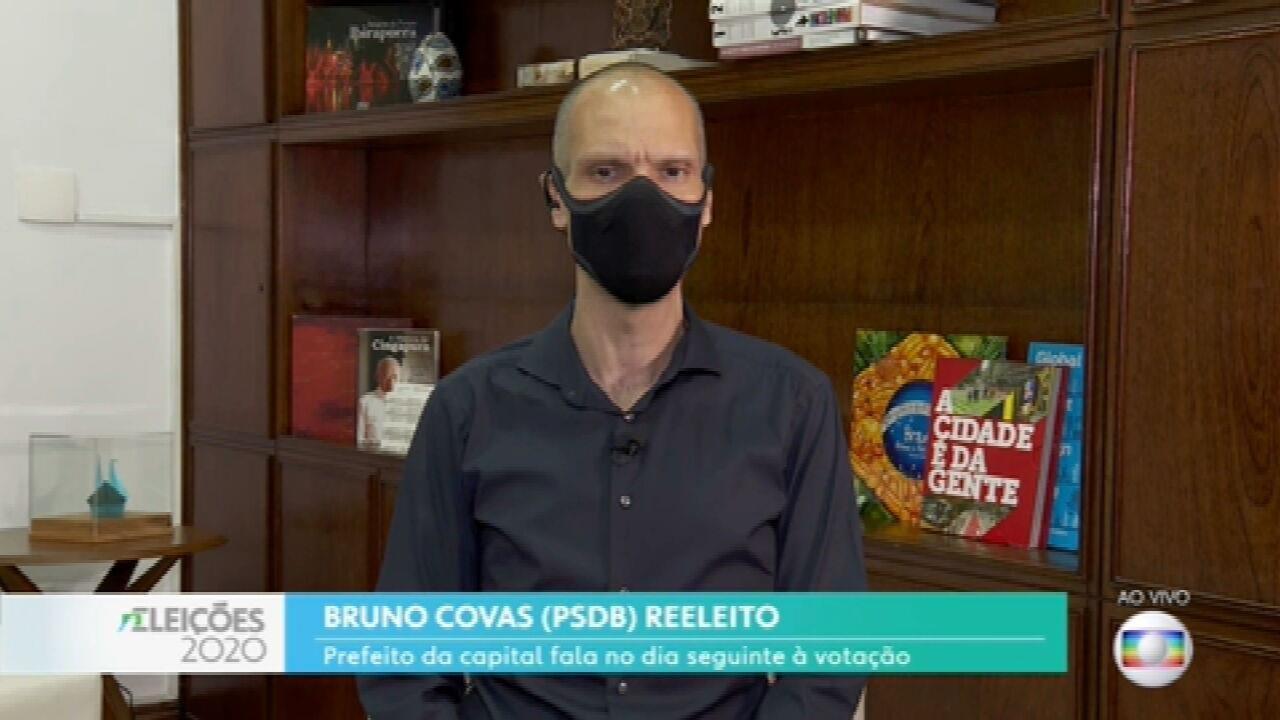 Bruno Covas diz que vai fazer um governo de inclusão e união em São Paulo