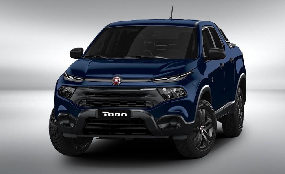 Fiat Toro 2020 — Foto: Divulgação/Fiat