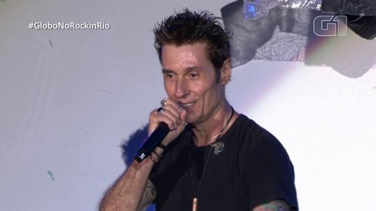 "Capital Inicial comanda coro de vozes em ""Primeiros Erros"" no Rock in Rio"