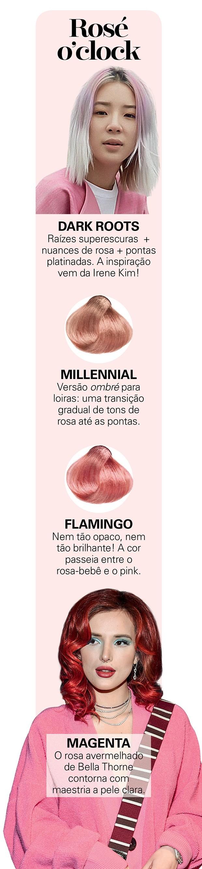 Cabelo rosé (Foto: Reprodução)