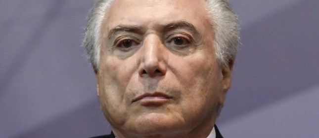 Michel Temer (Foto: Edilson Dantas / Agência O Globo)