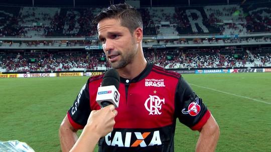 """""""Estamos insatisfeitos, mas tem muita coisa pela frente"""", diz Diego após eliminação"""