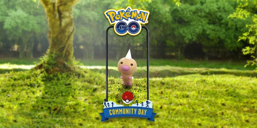 Weedle será o Pokémon Destaque do Dia Comunitário do mês de junho — Foto: Divulgação/Pokémon GO