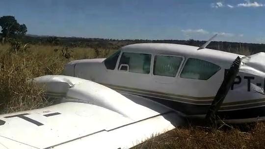 FAB intercepta avião com mais de 600 kg de cocaína em Jussara, GO