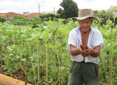 agricultor_cego_birigui (Foto: Tiago Lotto)