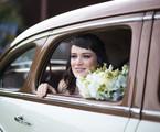 'O outro lado do paraíso': Bianca Bin grava a cena do casamento de Clara, sua personagem em 'O outro lado paraíso' | Globo/Raquel Cunha