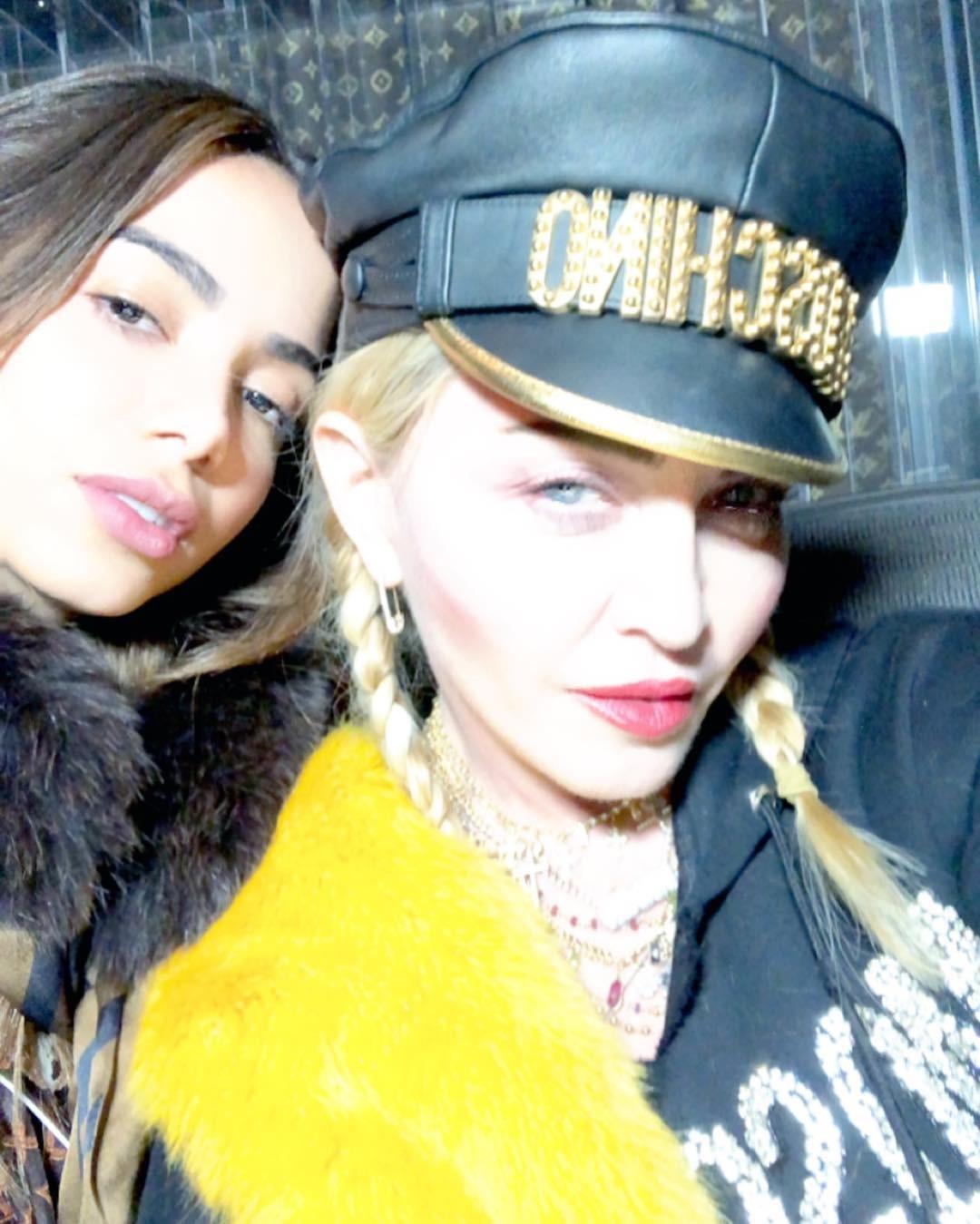 Anitta e Madonna posam juntas; vem hit estrelado por aí?