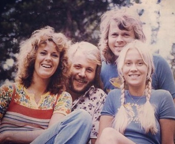 Os quatro membros do ABBA: Björn Ulvaeus, Agnetha Fältskog, Benny Andersson e Anni-Frid Lyngstad (Foto: Instagram)