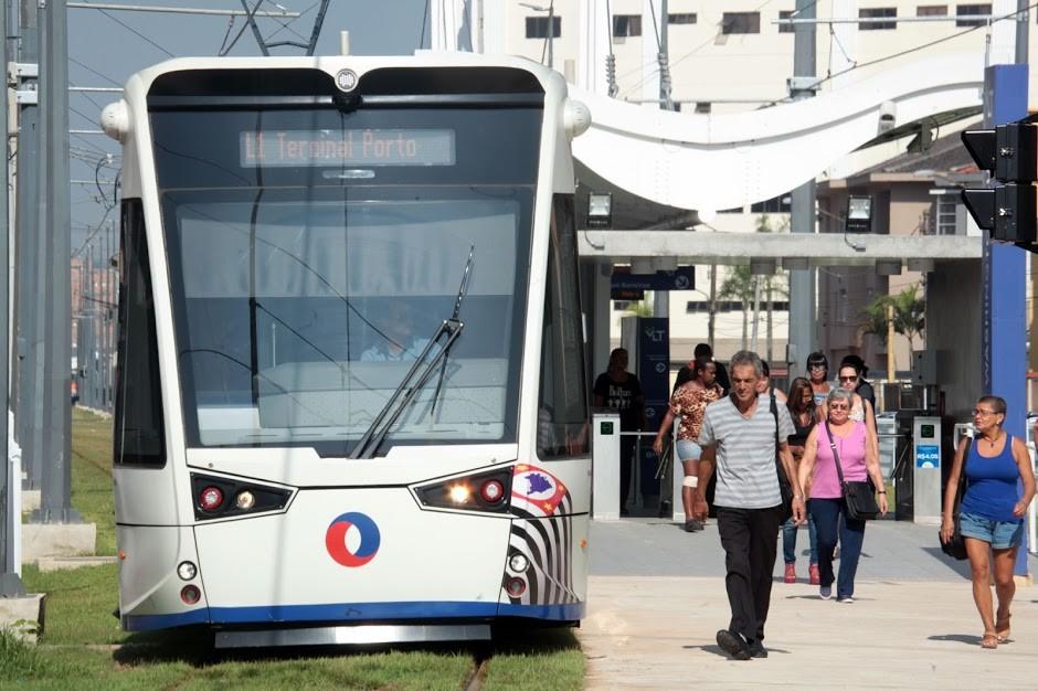 Edital do trecho que leva o VLT até o Centro de Santos é adiado - Noticias