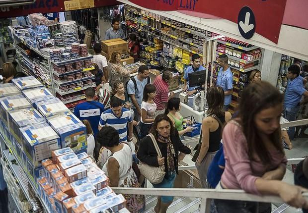 Comércio foi um dos principais responsáveis pela expansão do PIB. Setor cresceu 1,3% (Foto: Marcelo Camargo/Agência Brasil/EBC)