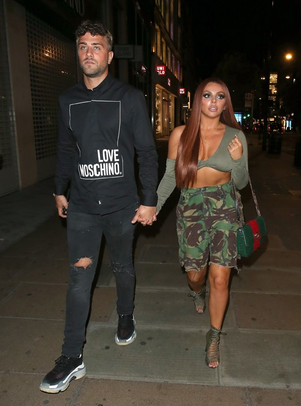 Jesy Nelson e Harry James (Foto: BACKGRID)