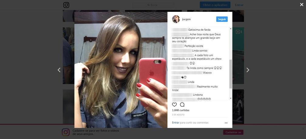 Juliana Cristini Gonçalves tem 27 mil seguidores no Instagram (Foto: Reprodução/Instagram)