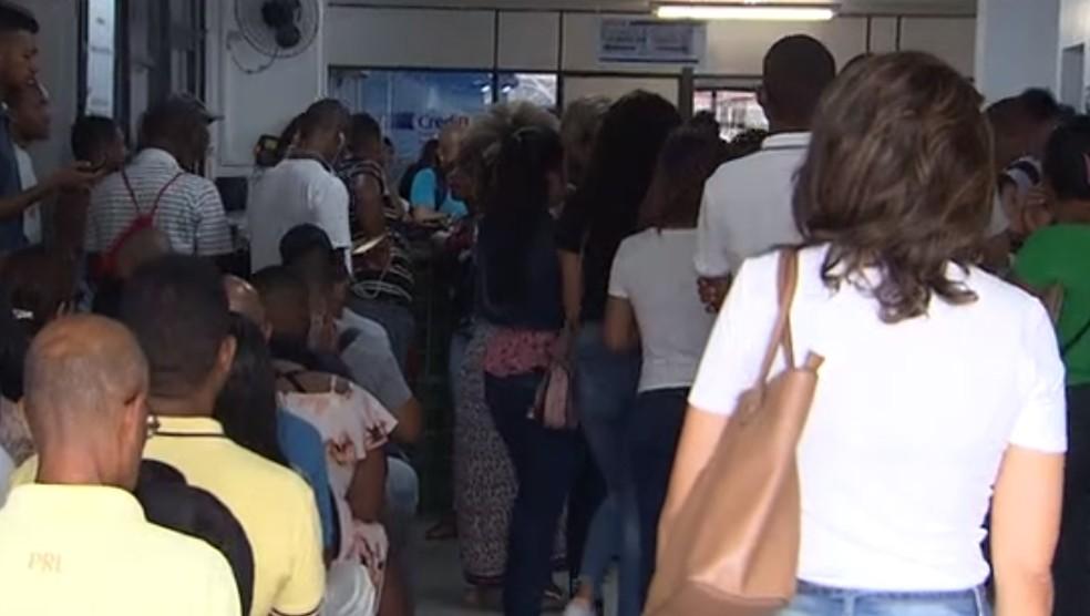 Taxa de desocupação no 1º trimestre na Bahia é a maior do país, junto com Pernambuco — Foto: Reprodução / TV Bahia