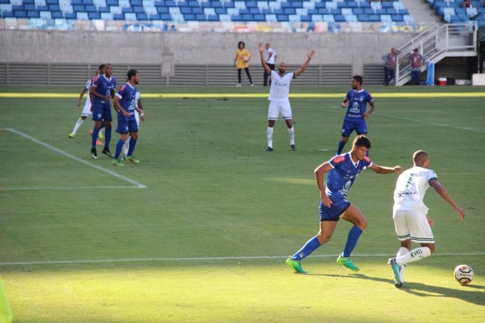 Dom Bosco venceu o Luverdense pelo Campeonato Mato-grossense — Foto: Thiago Mattos/ Assessoria Dom Bosco