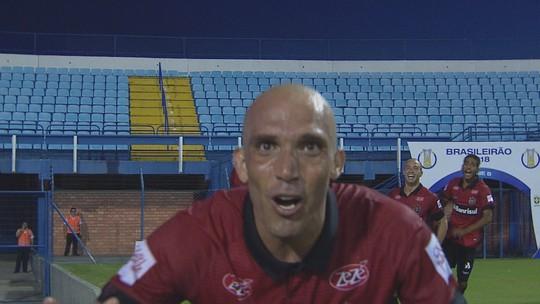 Confira os gols do empate entre Avaí e Brasil de Pelotas pela 2ª rodada da Série B