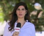 Andréia Sadi na GloboNews | Reprodução