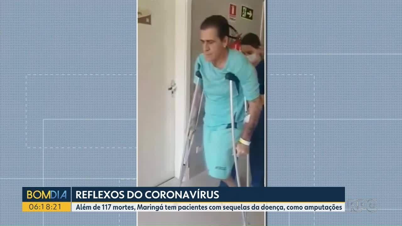 Parte dos pacientes curados da Covic-19 apresentam sequelas