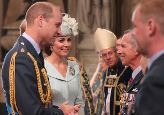 Família Real celebra os 100 anos da Força Aérea Real britânica (Foto: Getty Images)