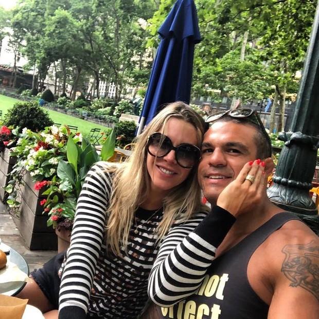 Joana Prado e Vitor Belford (Foto: Reprodução/Instagram)