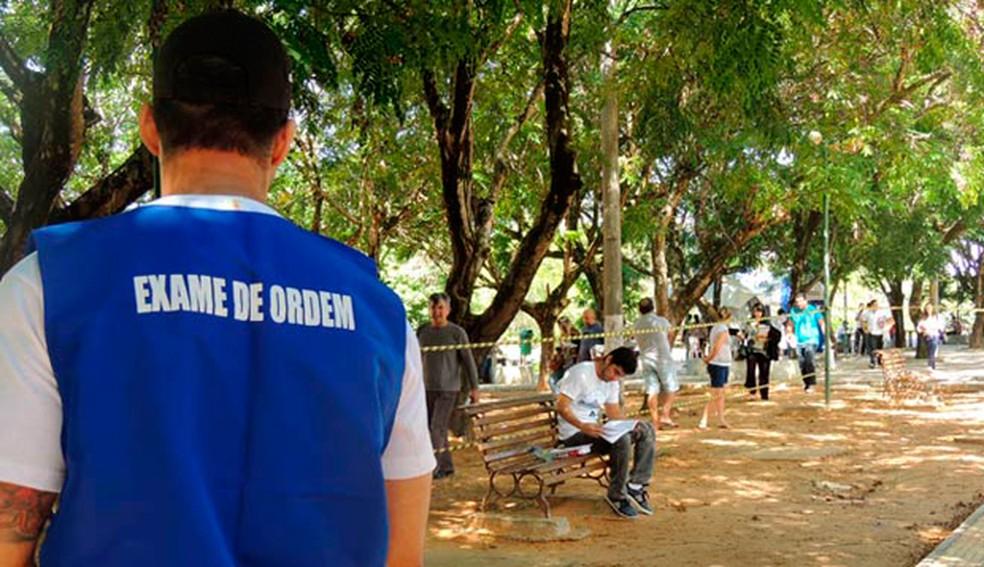 No RN, 1.554 estudantes de Direito estão inscritos para exame da OAB neste domingo — Foto: Divulgação/OAB-RN