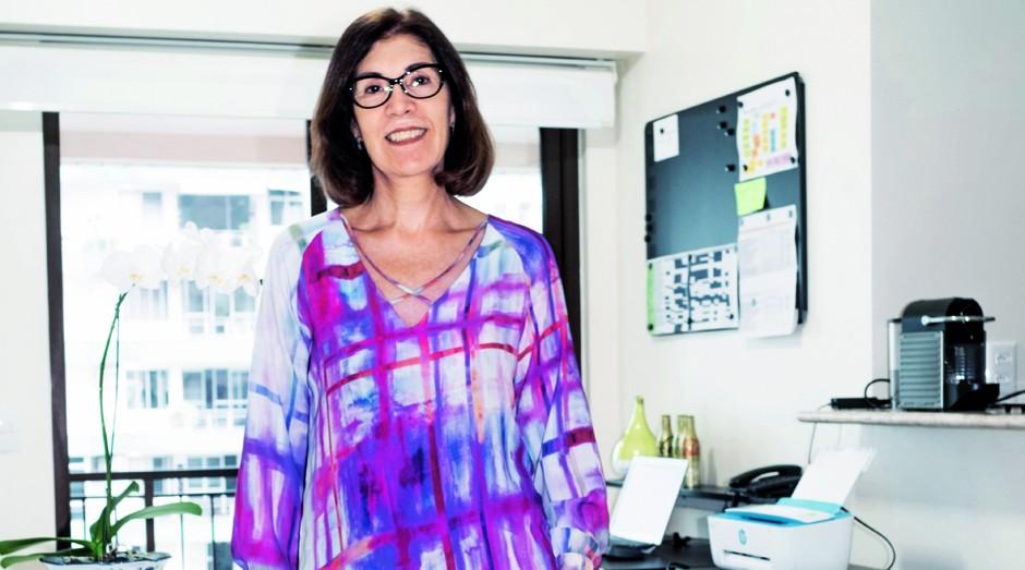 Sandra Medeiros, franqueada da Airomas: novo caminho no empreendedorismo (Foto: Alex Batista e Demian Jacob)