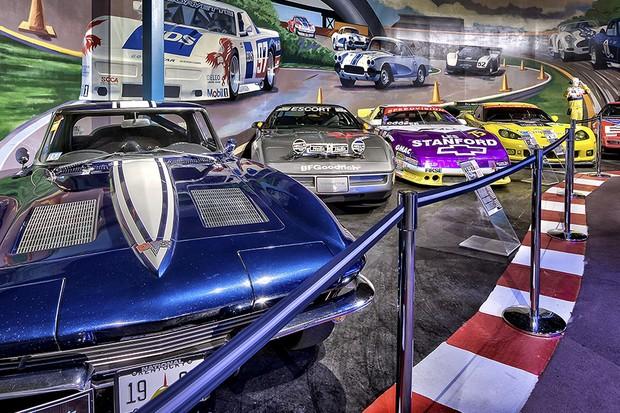 Museu Nacional do Corvette fica na cidade de Bowling Green no Kentucky, EUA (Foto: Divulgação)