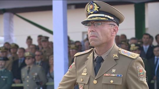 Coronel Araújo Gomes toma posse do comando-geral da Polícia Militar